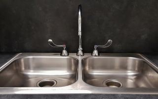 Cleaning Kitchen Sink - Ready Set Maids